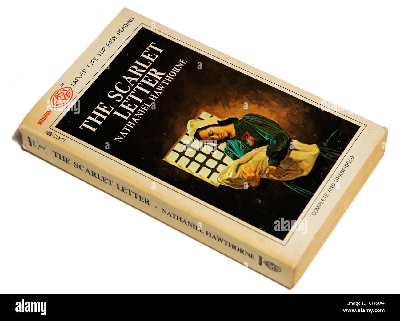 The Scarlet Letter by Nathaniel Hawthorne - Stock Image