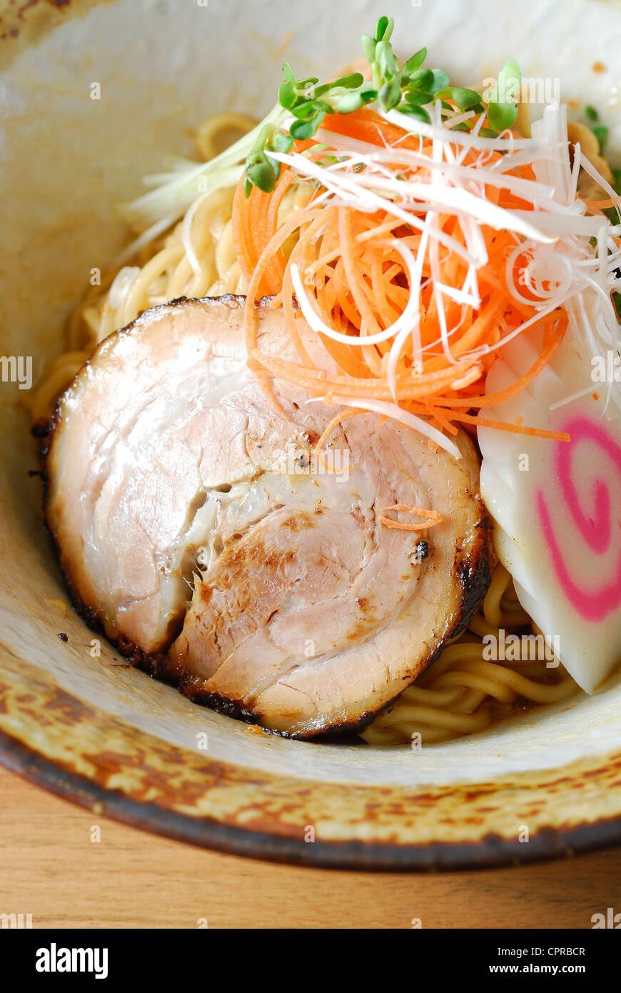 tongkotsu ramen - Stock Image