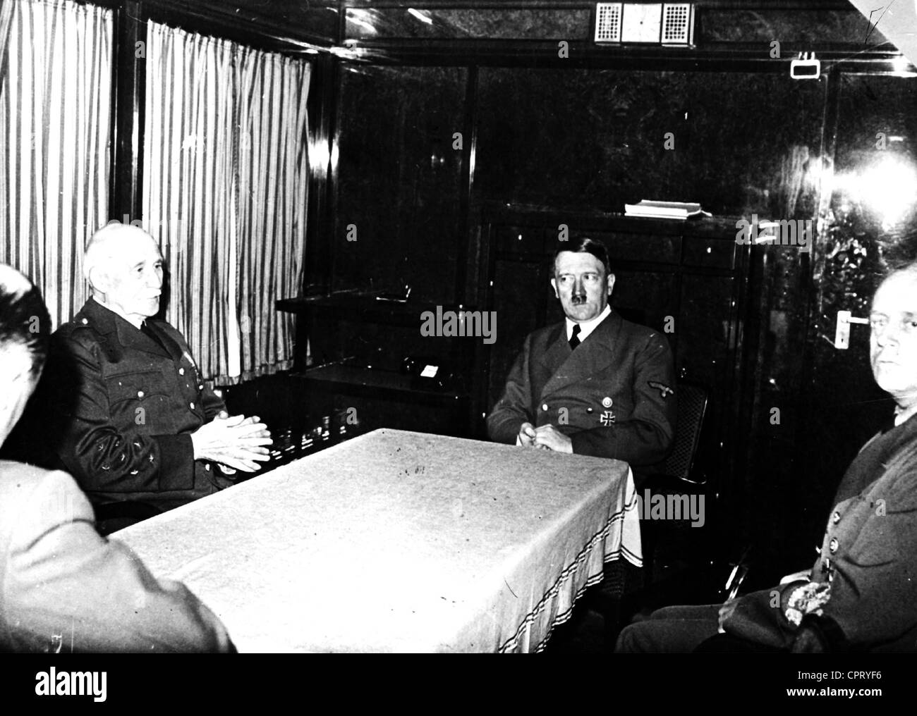 Petain, Henri Philippe, 24.4.1856 - 23.7.1953, French general, politician, Chief of the French State 1940 - 1944, - Stock Image