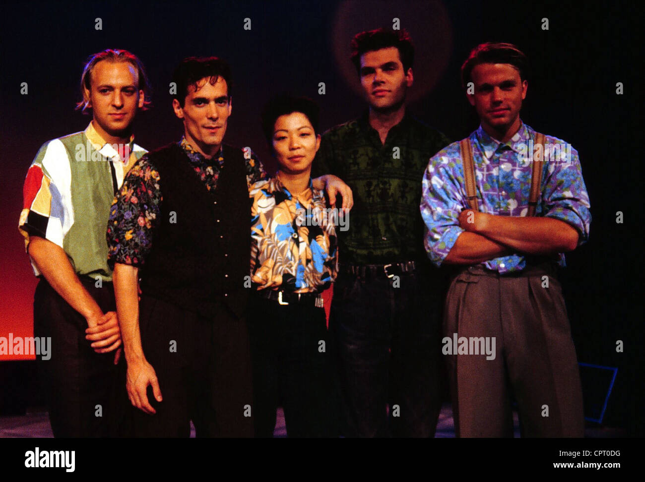 Camouflage German Pop Band Founded In 1983 Group Picture November 1989
