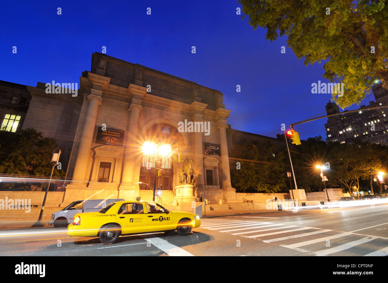 American Museum of Natural History in New York, New York. - Stock Image