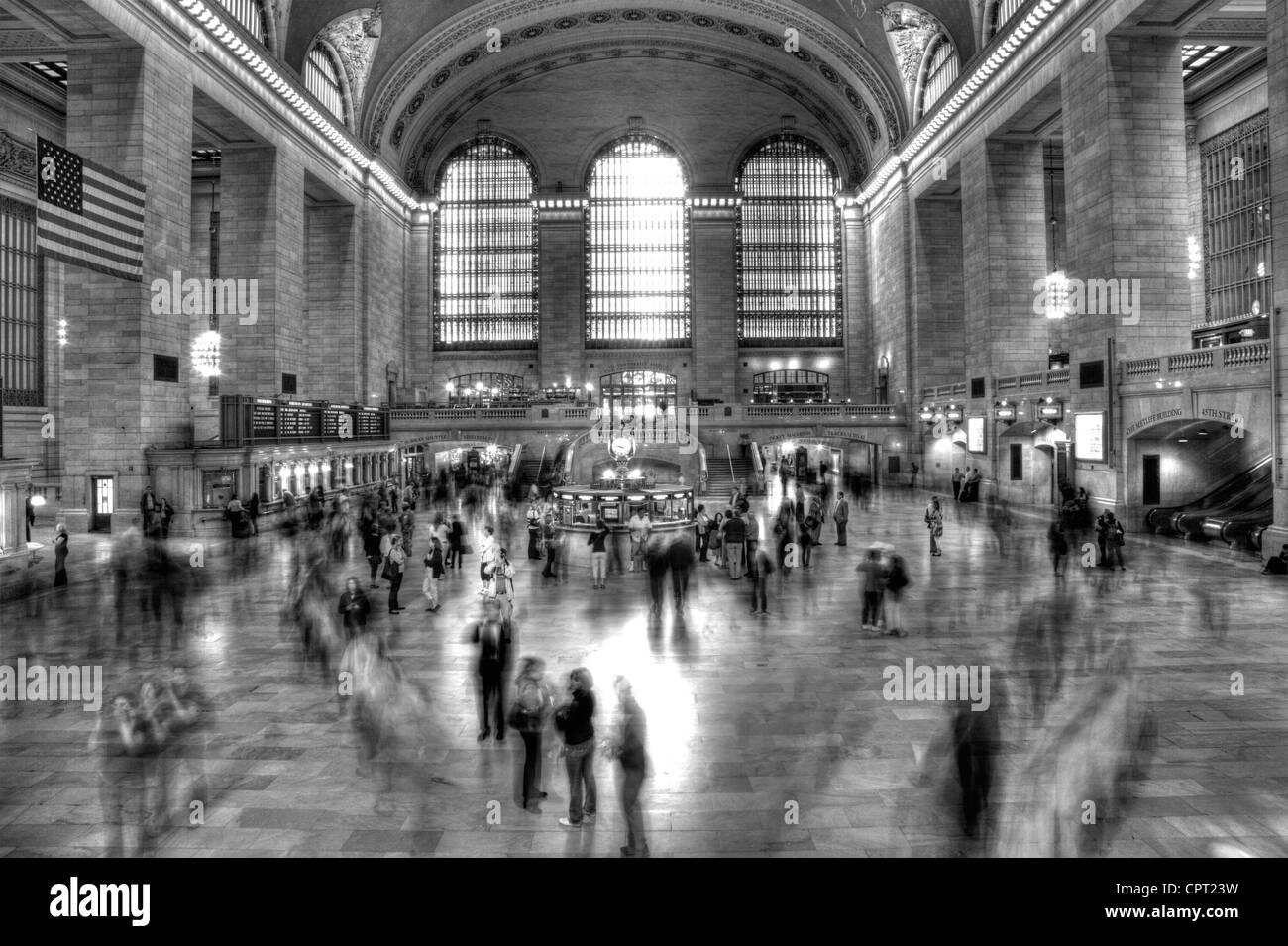 Inside grand central station the iconic hub of the subway system in manhattan new york city nyc usa