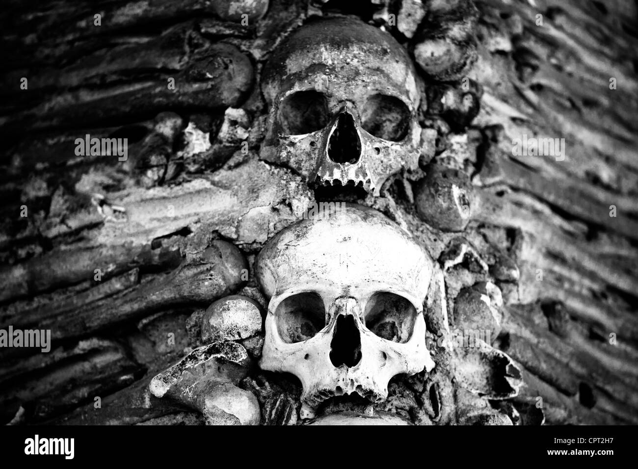 Church of Bones, Evora, Portugal - Stock Image