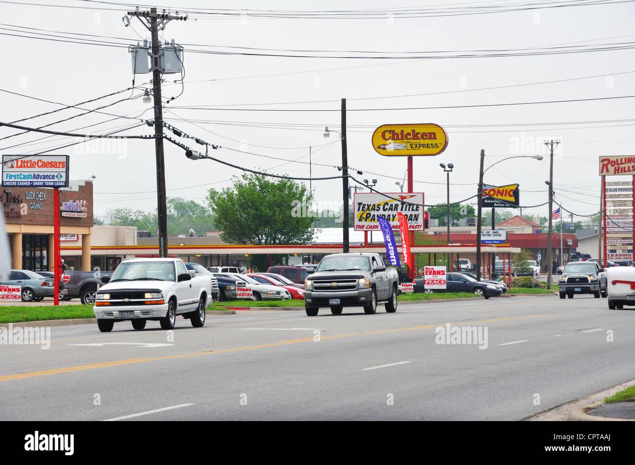 Emery, Texas, USA - Stock Image