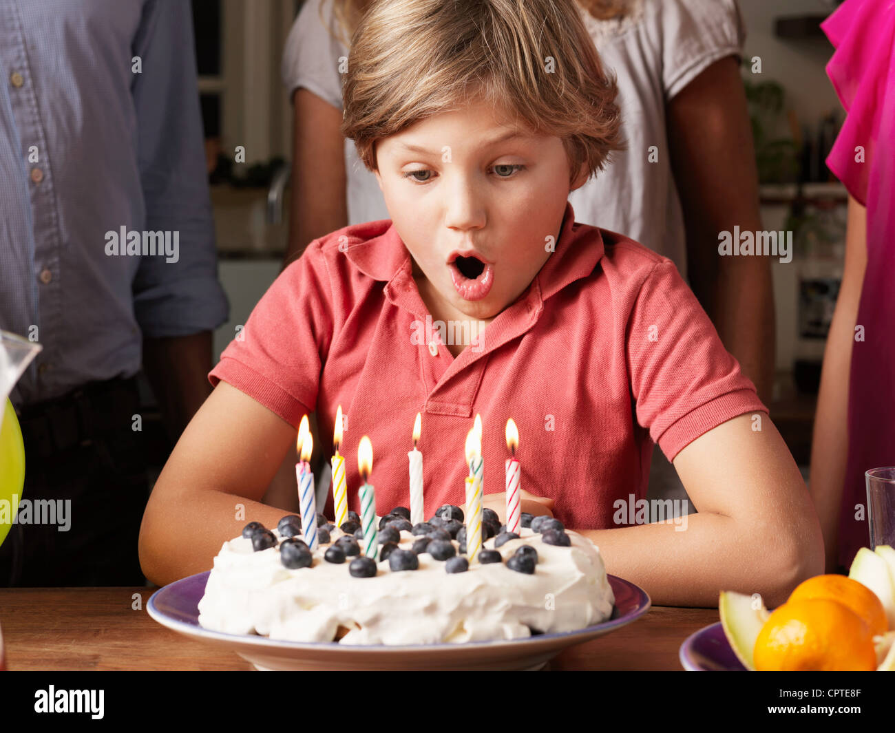 Virtual Birthday Cake With Candles To Blow Out