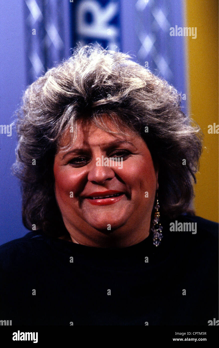 Fleming, Joy, * 15.11.1944, German singer, portrait, 1992, Additional-Rights-Clearances-NA - Stock Image