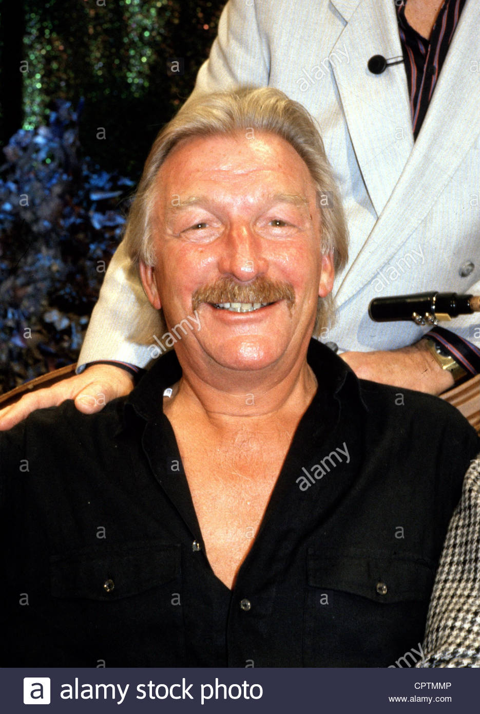 Last, James, * 17.4.1929, German big band leader, composer, portrait, 1990s, musician, born Hans Last, smiling, - Stock Image