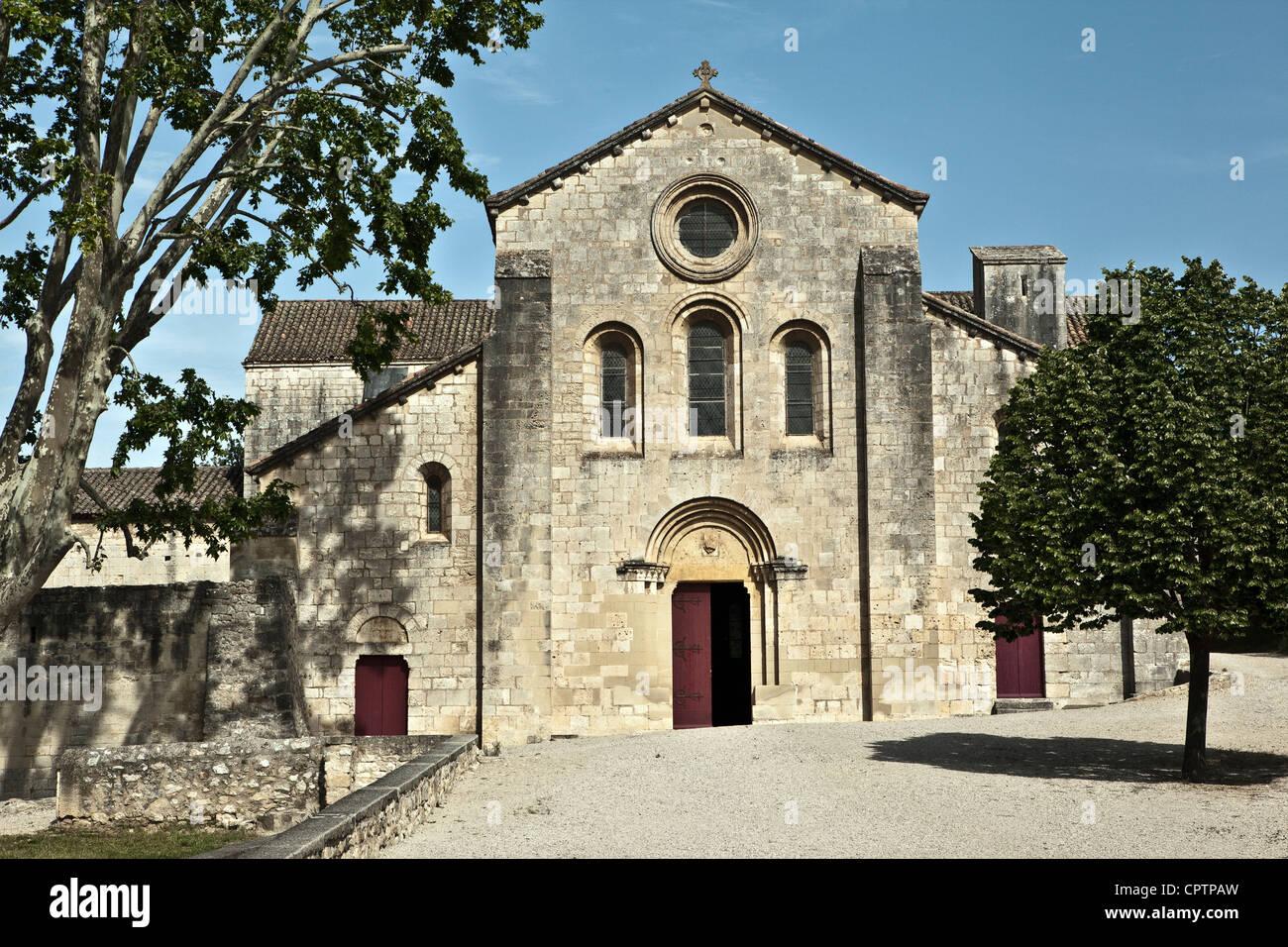 The Cistercian abbey of Silvacane (Provence,France) Stock Photo