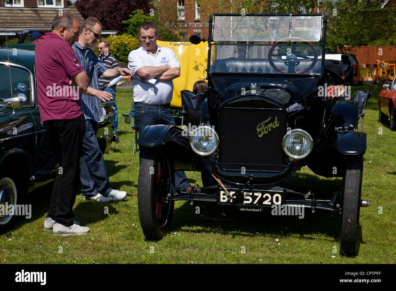 Ford Model T, Classic Car Show, Ringmer Fete, Susse, England - Stock Image