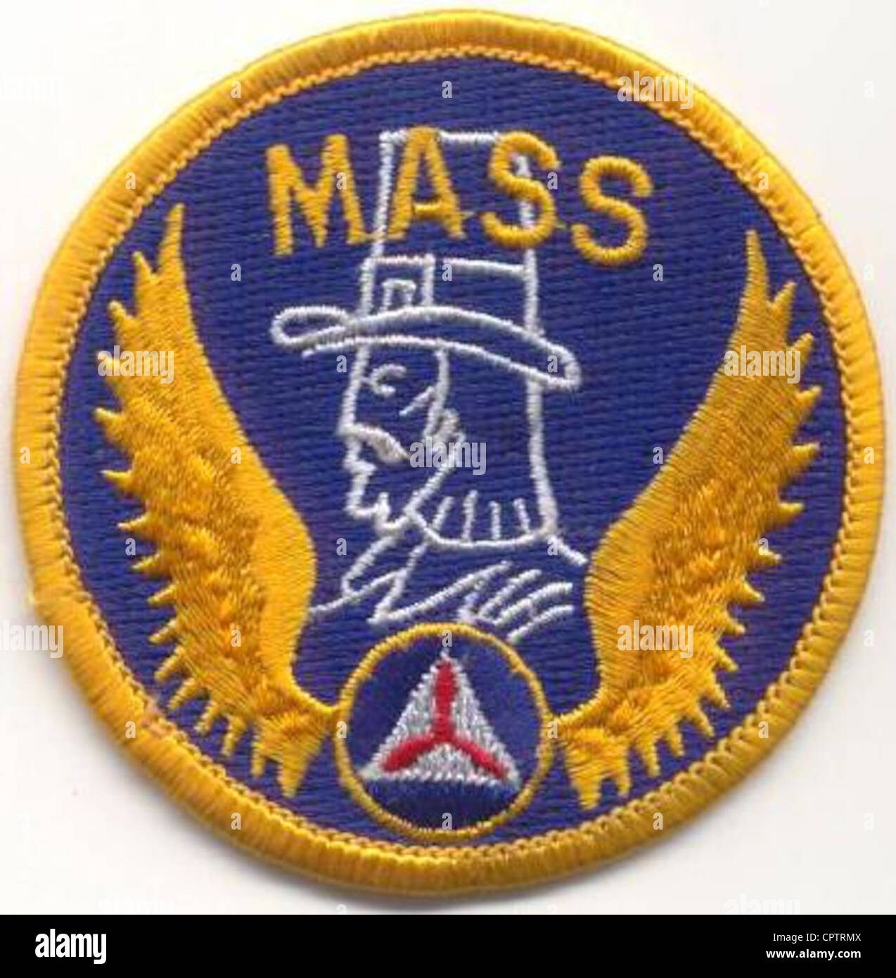 Insignia of the Massachusetts Wing, Civil Air Patrol - Stock Image