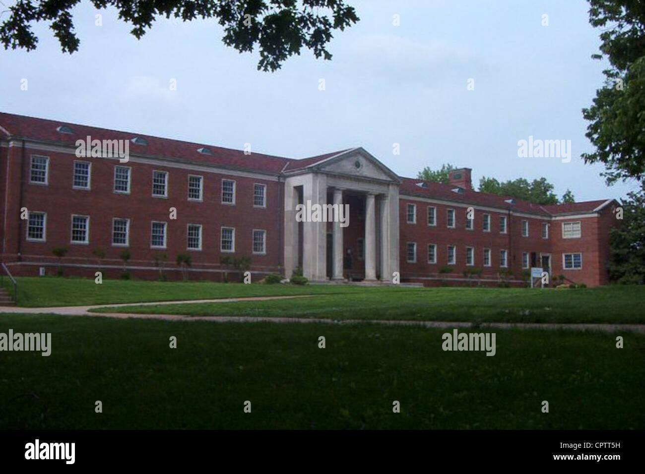 Hall-Moody Administration Building, UT Martin. - Stock Image