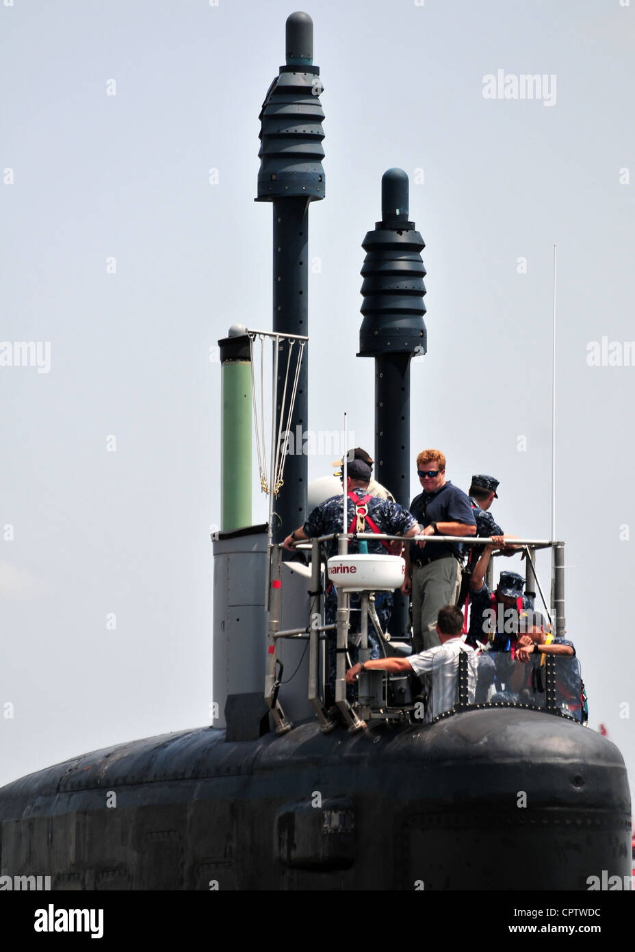 Mississippi's newest namesake, Virginia-class fast attack submarine Pre-Commissioning Unit (PCU) Mississippi - Stock Image