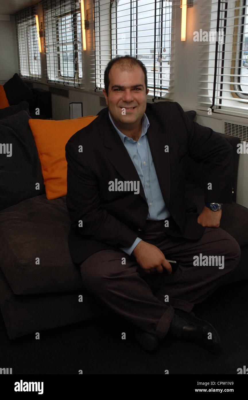 Serial entrepreneur Sir Stelios Haji-Ioannou - Stock Image