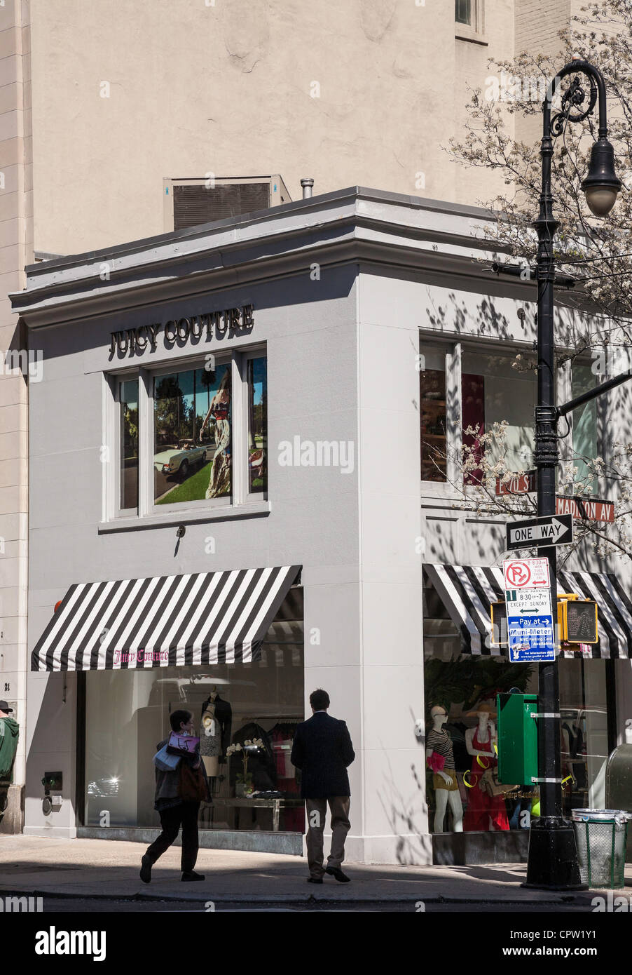 Juicy Couture Store Madison Avenue, NYC - Stock Image