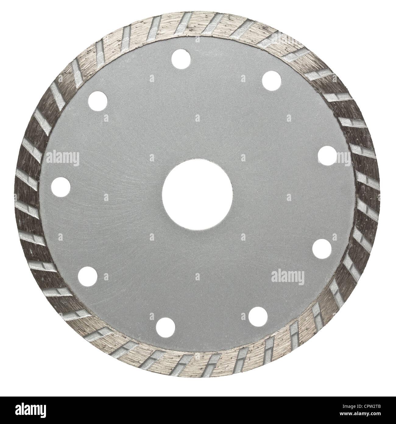 Circular saw blade. Disk for stone cutting work. - Stock Image