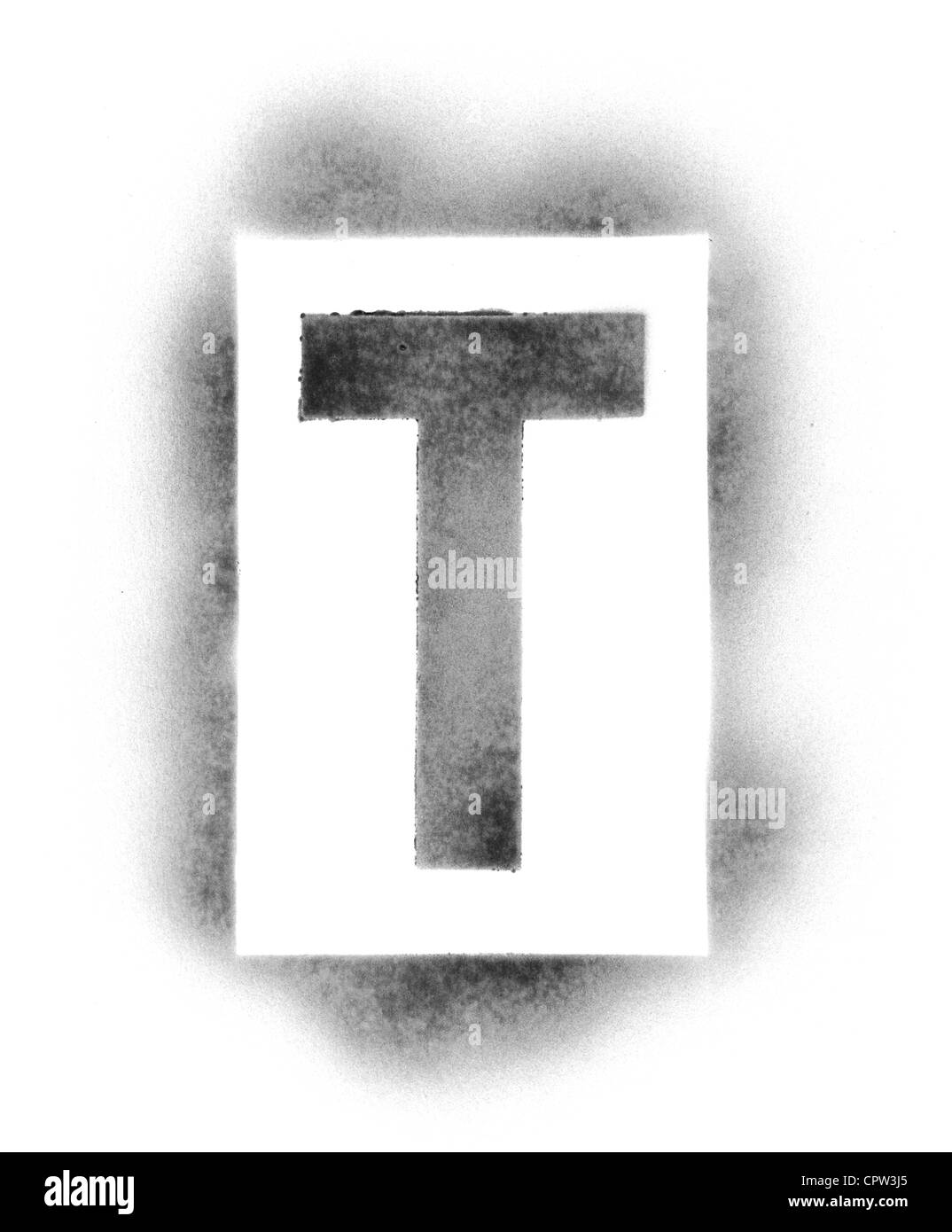 Stencil letters in spray paint stock photo 48494829 alamy stencil letters in spray paint spiritdancerdesigns Images