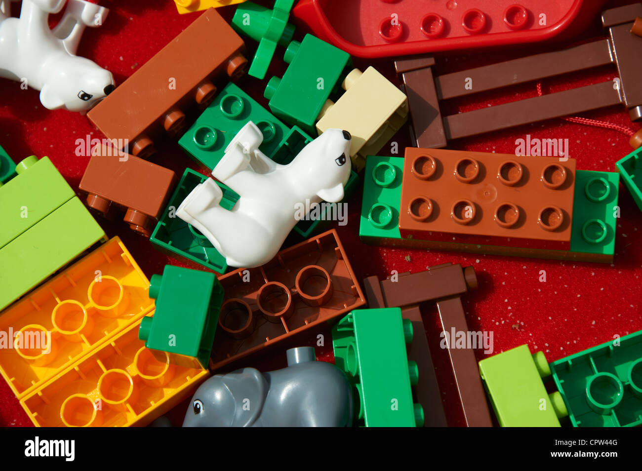 Lego Bricks And Animals