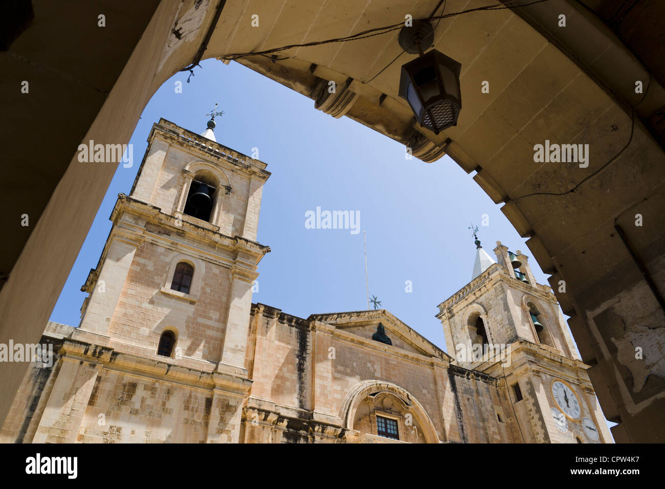 St. John's Co-Cathedral, Valletta, Malta - Stock Image