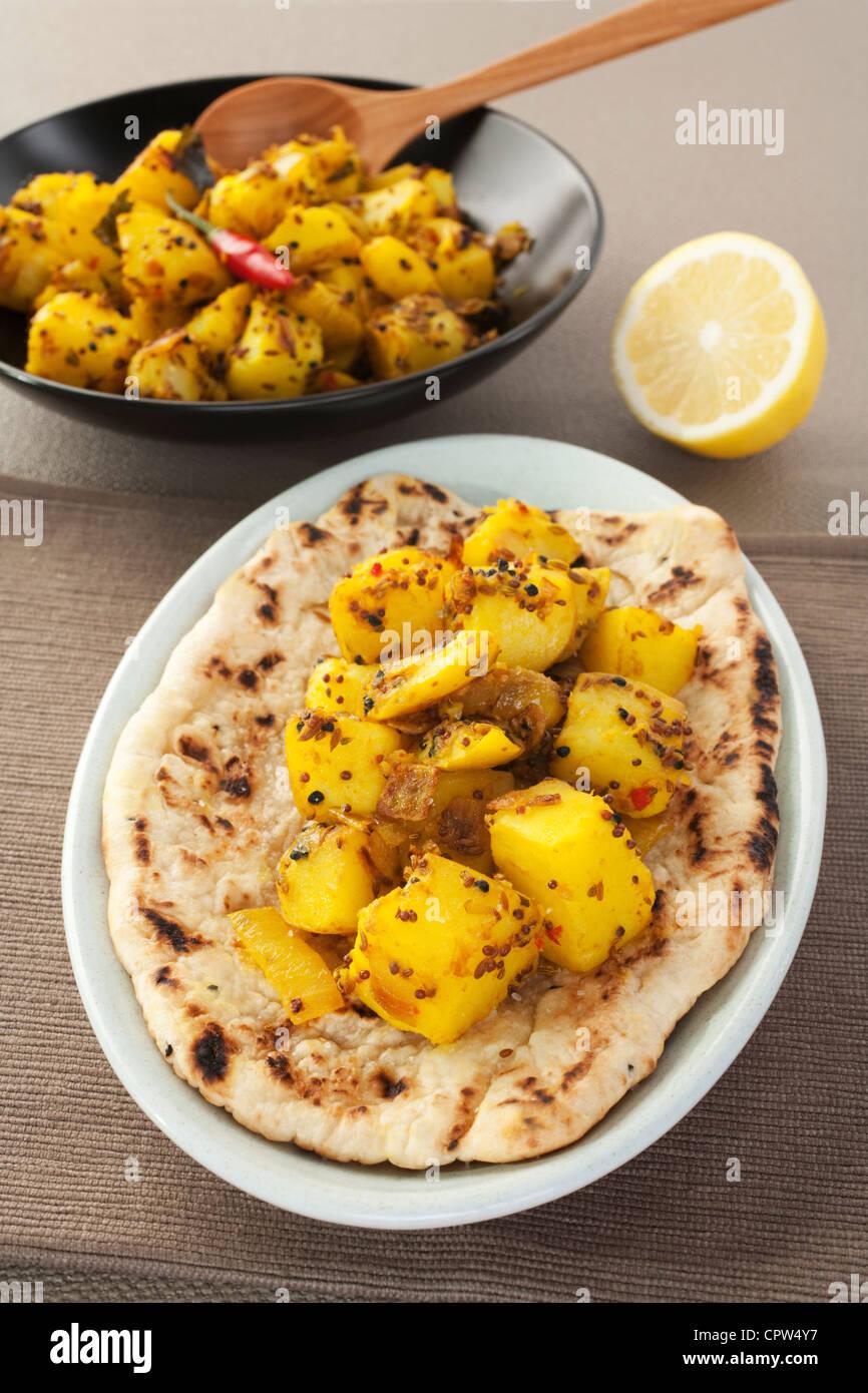 Bombay Potato - Stock Image