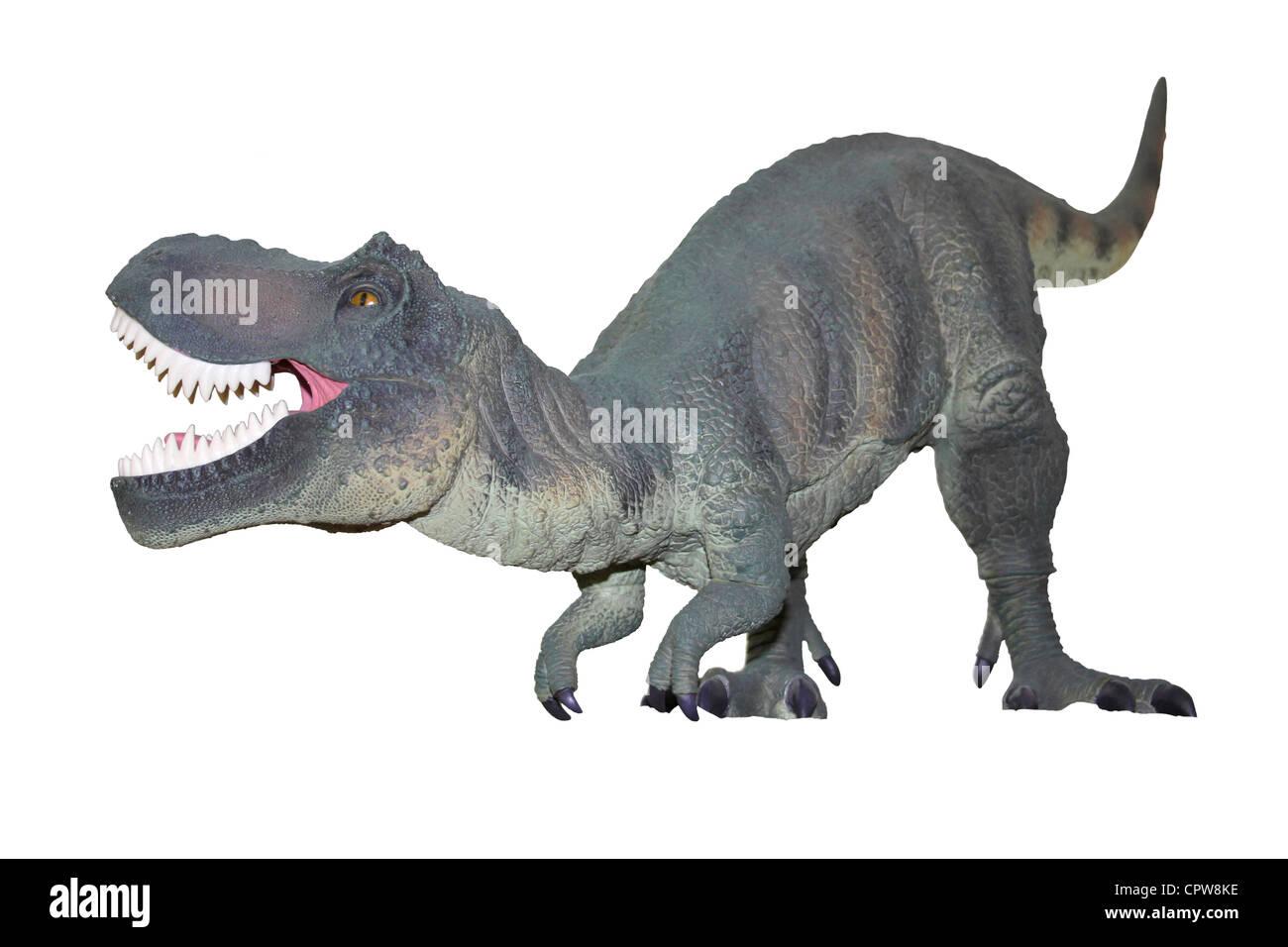Toy Dinosaur Tyrannosaurus Rex Stock Photo
