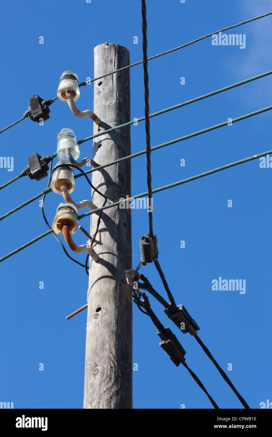 Mallorca, 20120526, Stromversorgung © Gerhard Leber - Stock Image