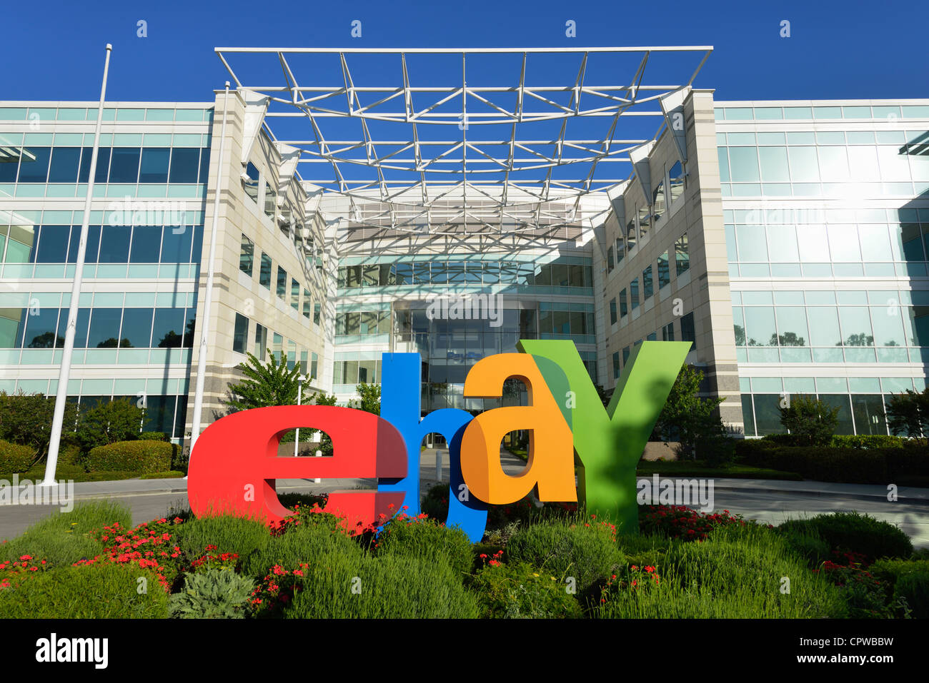 Headquarters Of Ebay And Paypal Incorporated San Jose Ca Stock Photo Alamy