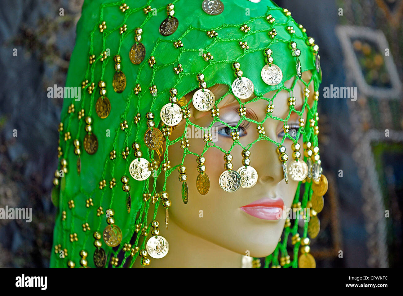 a4accc46171d Asia Jordan Amman Traditional clothing store Stock Photo  48507296 ...