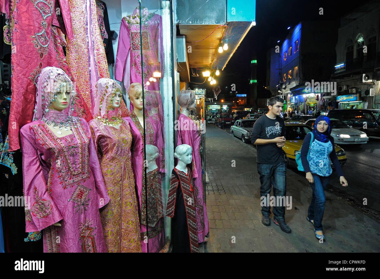 96e7a1e2790d Asia Jordan Amman Traditional clothing store Stock Photo  48507297 ...