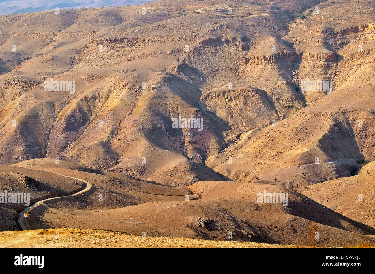 Creazione sarcoma nipote  Asia Jordan Mount Nebo from the top of the mountain view of the Stock Photo  - Alamy