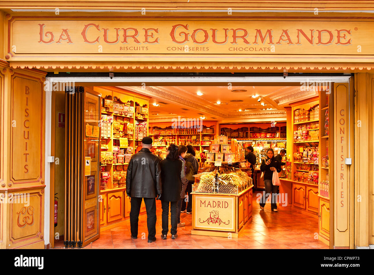 La Cure Gourmande, Madrid, Spain - Stock Image