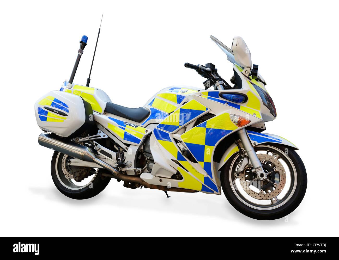 Police motorbike - Stock Image