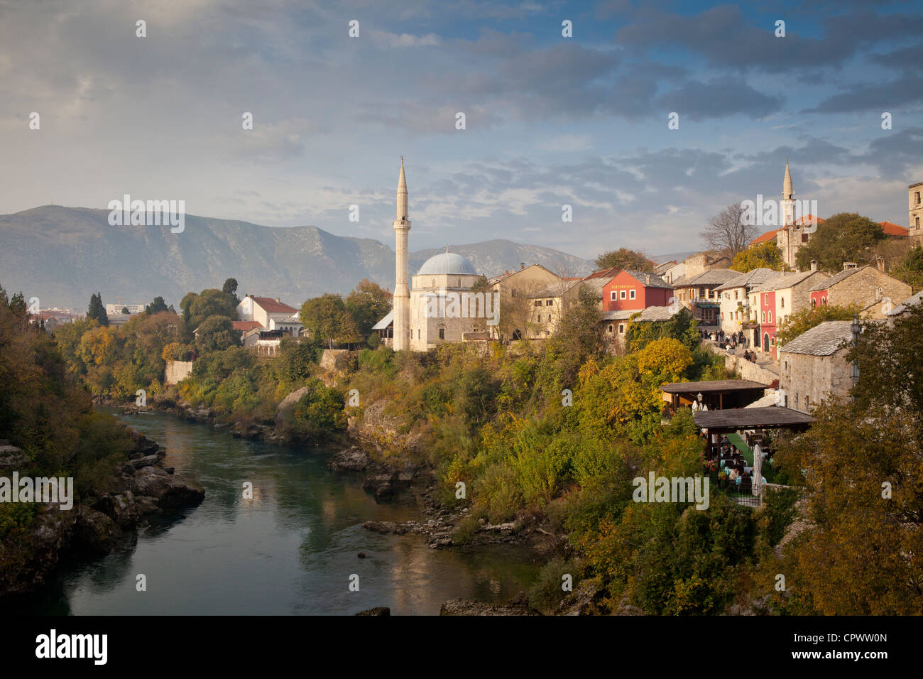 old town, Mostar, Bosnia and Herzegovina - Stock Image