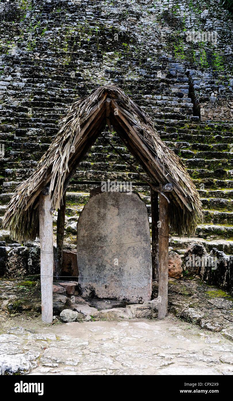 Coba Mayan Ruins in Mexico - Stock Image