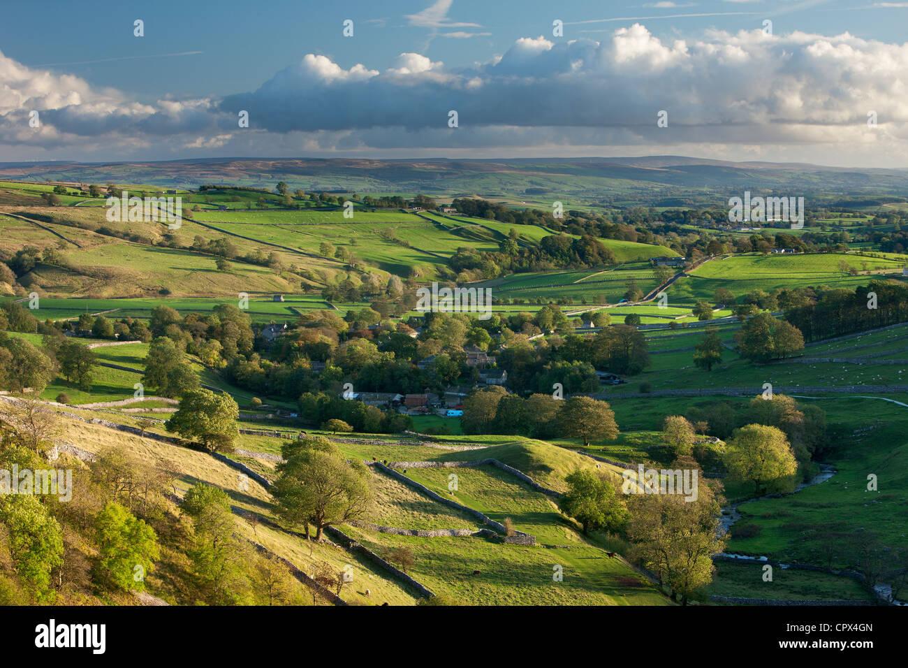Malham, Yorkshire Dales, England, UK - Stock Image
