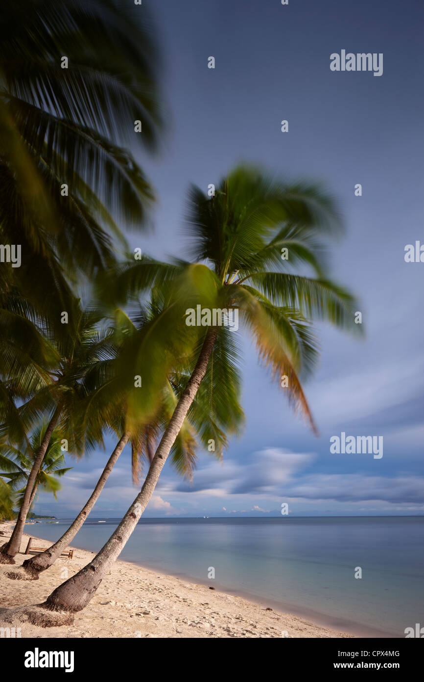 San Juan Beach, Siquijor, The Visayas, Philippines - Stock Image