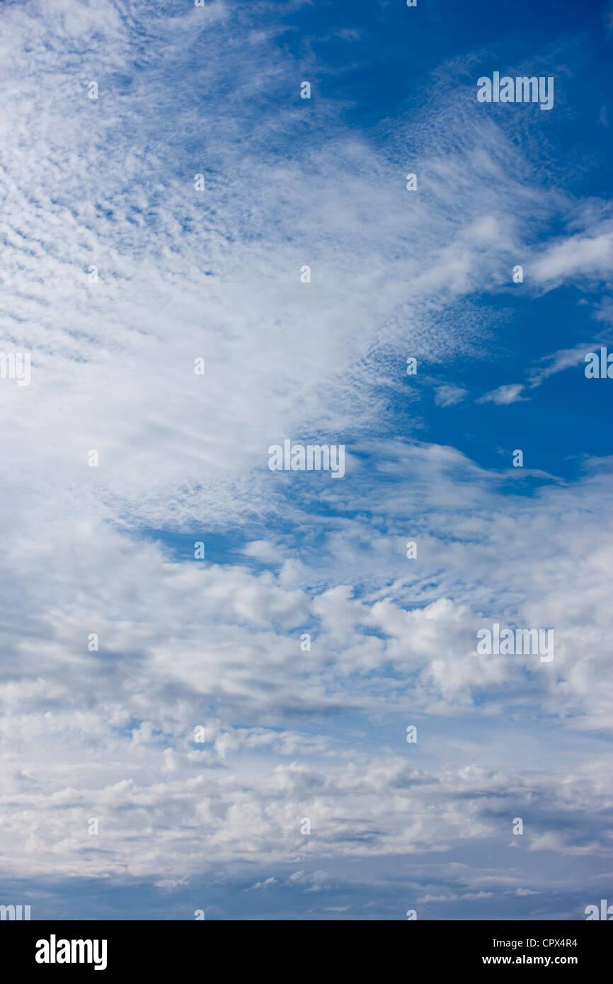 sky, Devon, England, UK - Stock Image