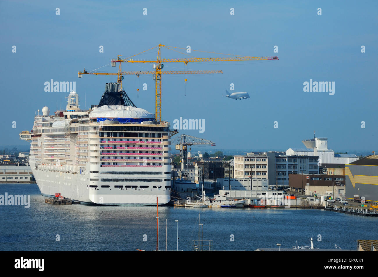 France Loire Atlantique Saint Nazaire Port Saint Nazaire Pool And