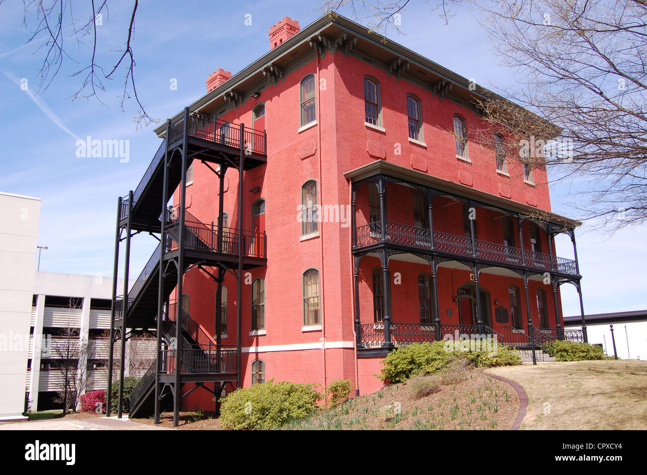 Raleigh and Gaston - Seaboard Coast Line Building in Raleigh, North Carolina - Stock Image