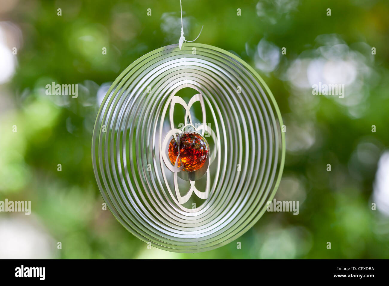 Hanging garden decoration - Stock Image