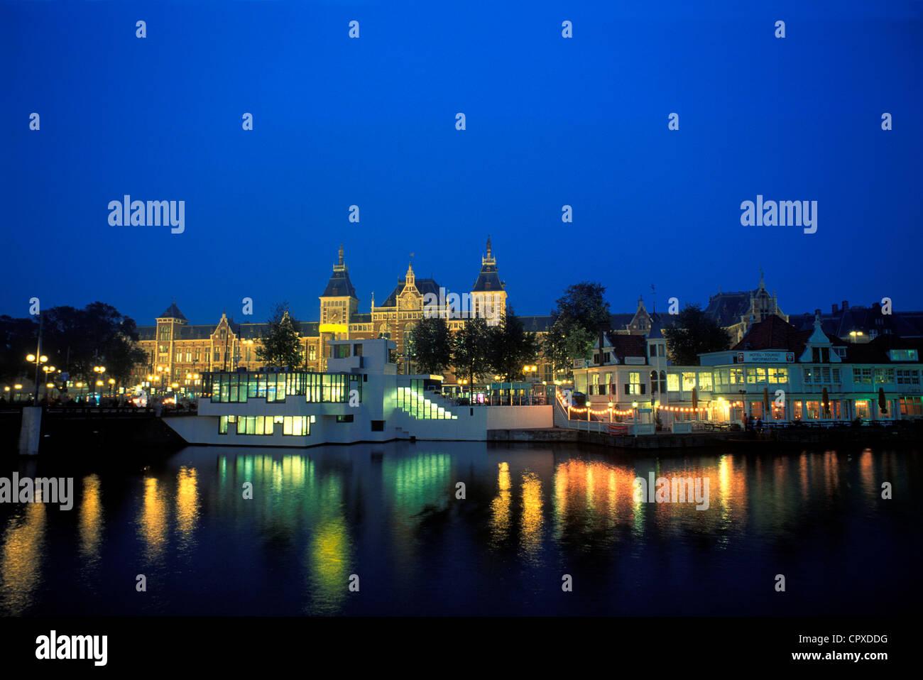 Netherlands, Amsterdam, the main station - Stock Image