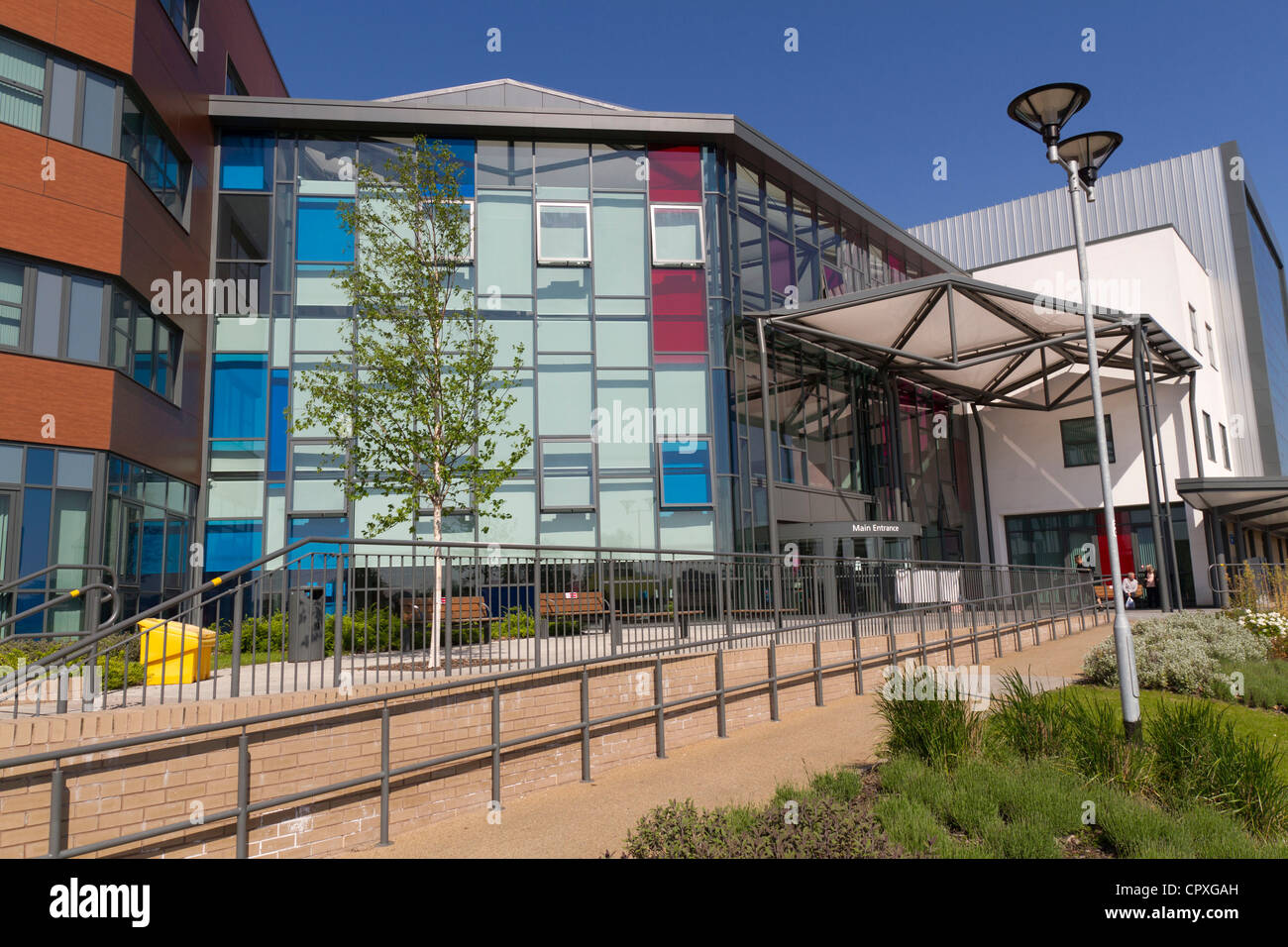 Walsall Manor Hospital West Midlands - Stock Image