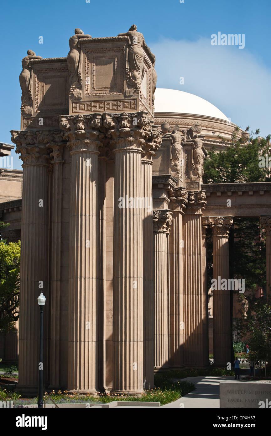 Exploratorium Museum in San Francisco Stock Photo