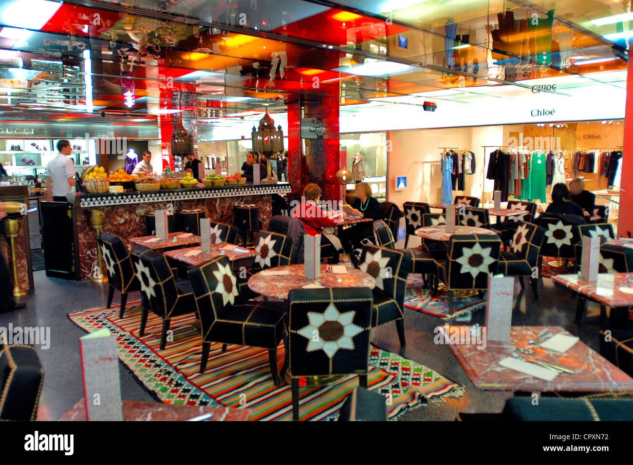United Kingdom, London, Mayfair District, in Selfridges shop, the VIP restaurant chez Momo - Stock Image