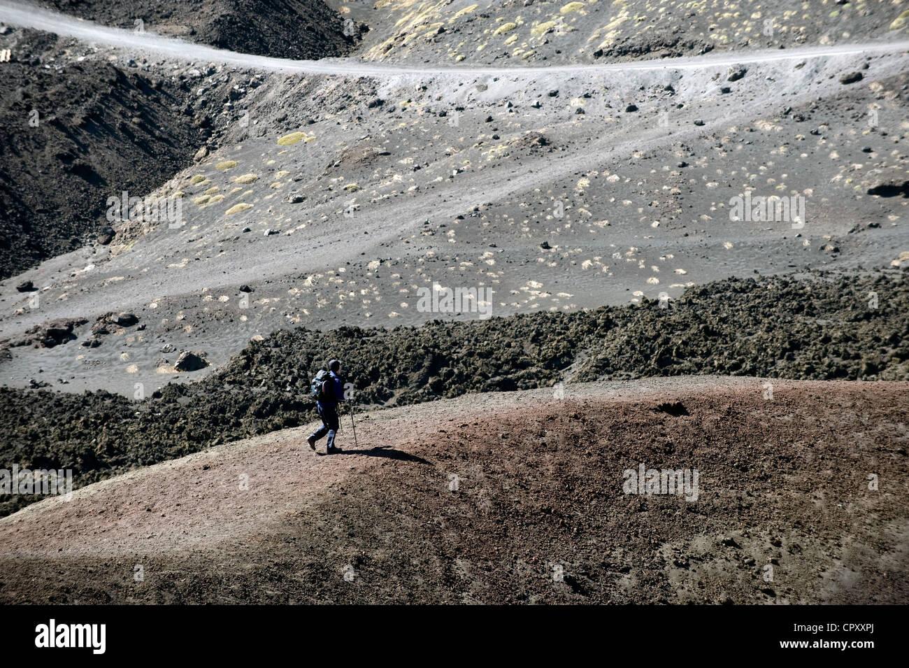 Italy, Sicily, Etna - Stock Image