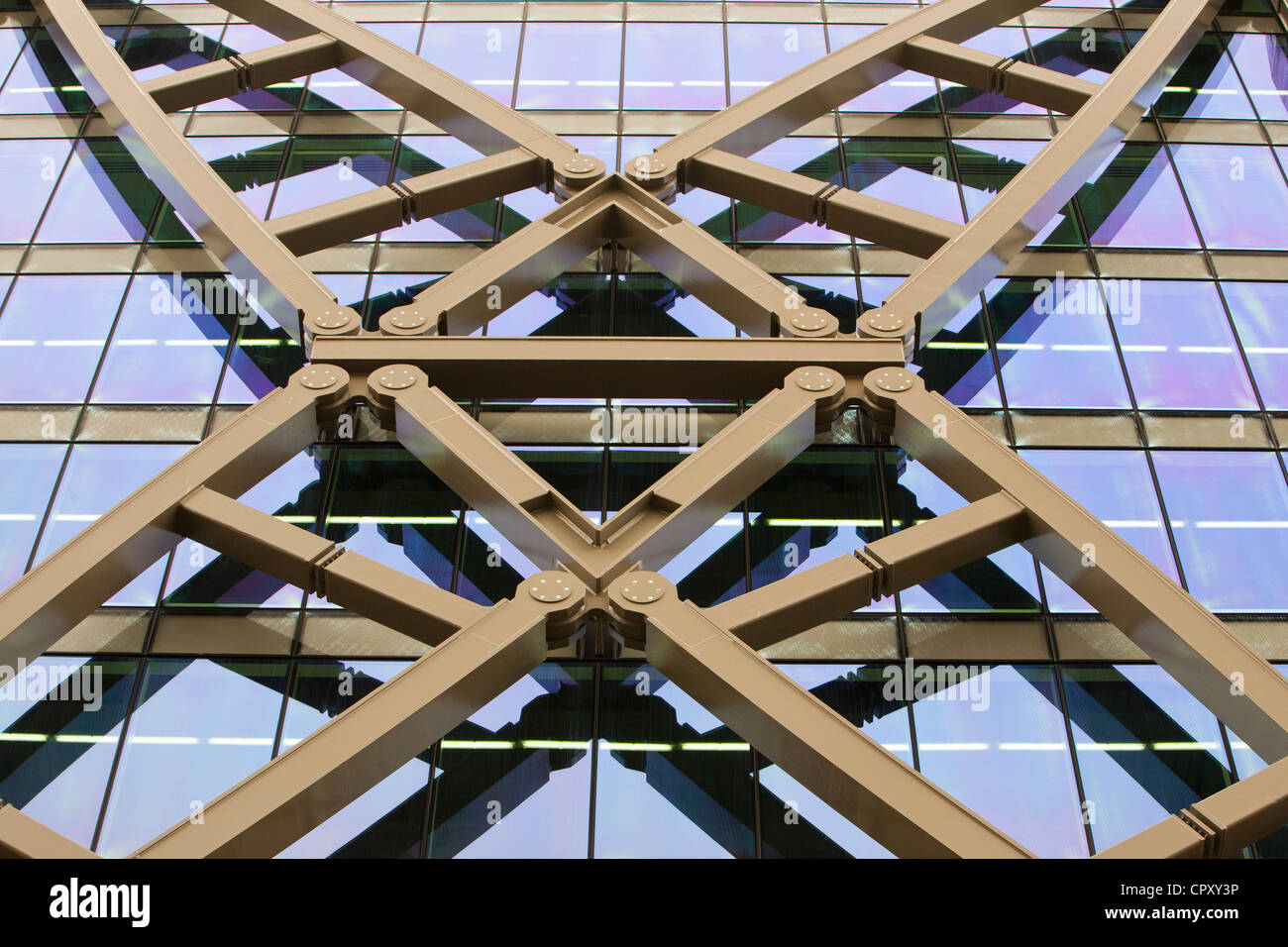 The exterior of Cannon Bridge House in London, UK. - Stock Image