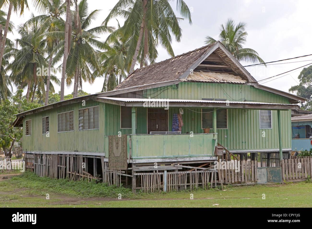 Malaysia, Kuala Terengganu, seahouse - Stock Image