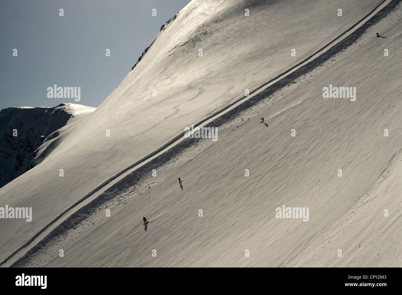 Kasprowy Wierch Ski Resort Tatra Mountains Zakopane Poland Stock