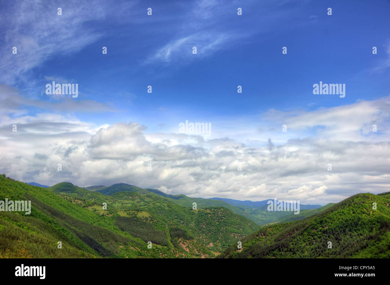 Mountain Rodopi - Stock Image