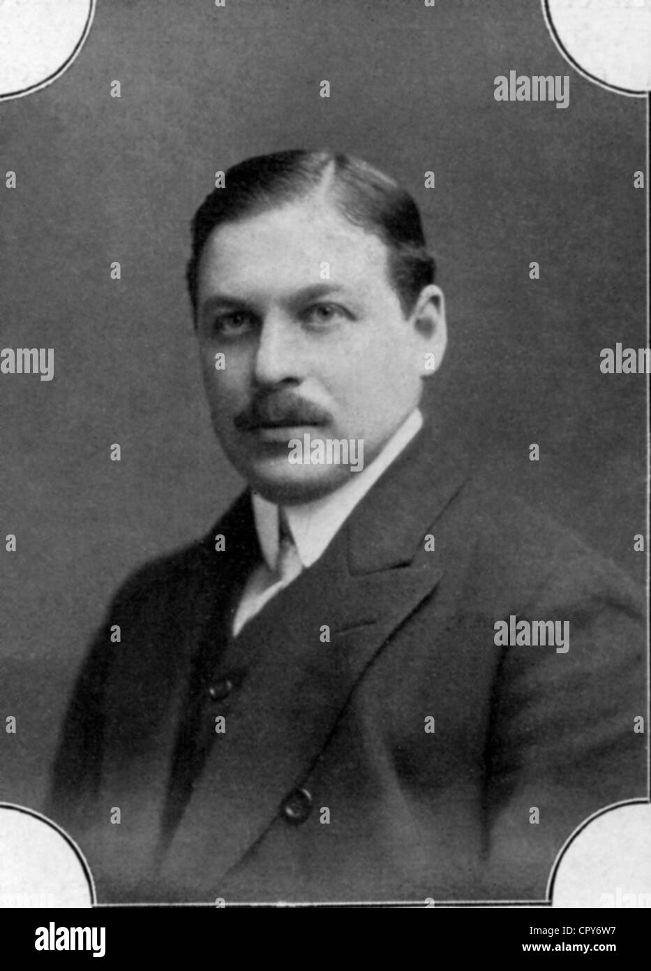Kalman, Emmerich (Imre), 24.10.1882 - 30.10.1953, Hungarian composer, portrait, photograph by L. Gutmann, Additional - Stock Image