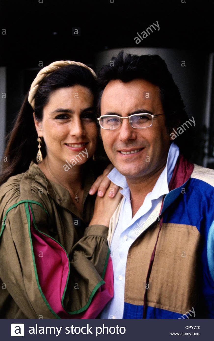 Power, Al Bano & Romina, 1970 - 1996, Italian pop duo, (Albano Carrisi and Romina Francesca Power), portrait, - Stock Image